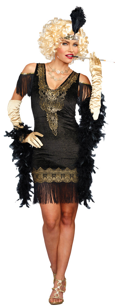 Swanky Flapper Womens Costume Sm