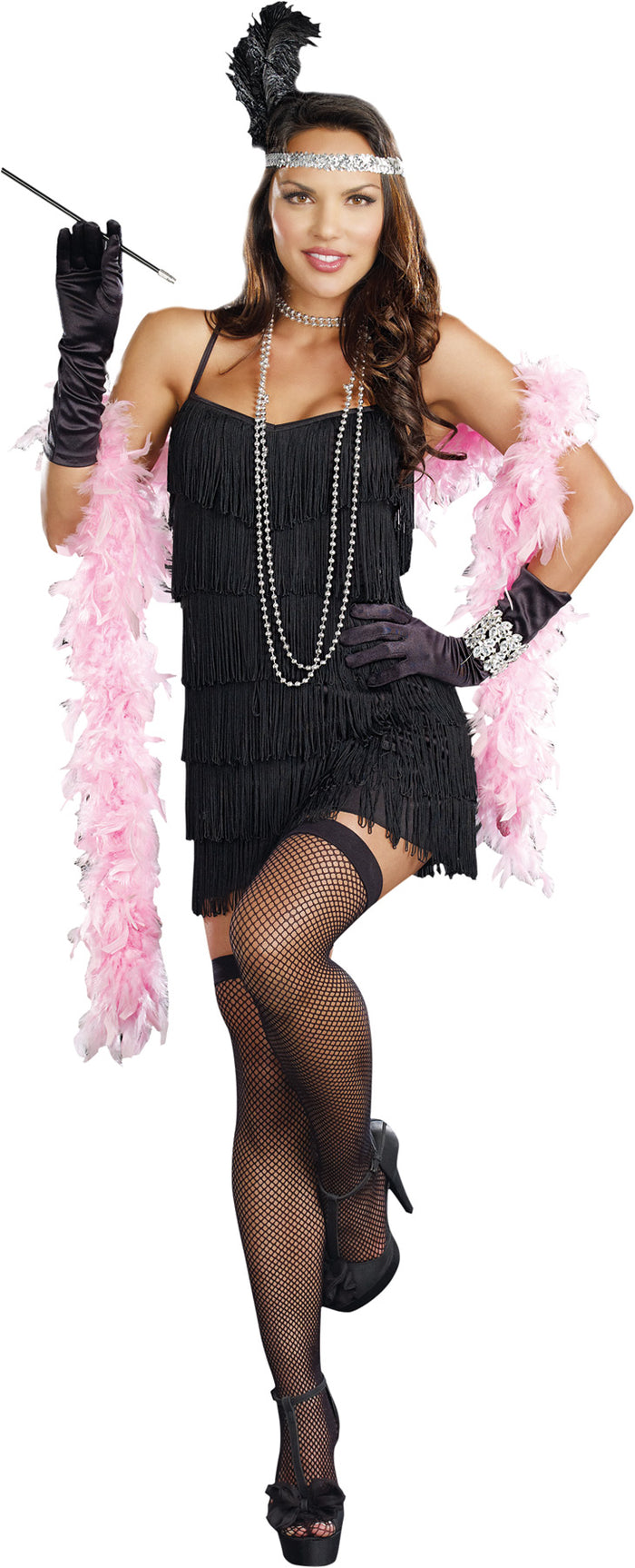 adult female costume, Flapper Basic Dress Xl, Gangster & Flapper Costume, Halloween Costumes, Women's Costumes, Women's Plus Size Costume