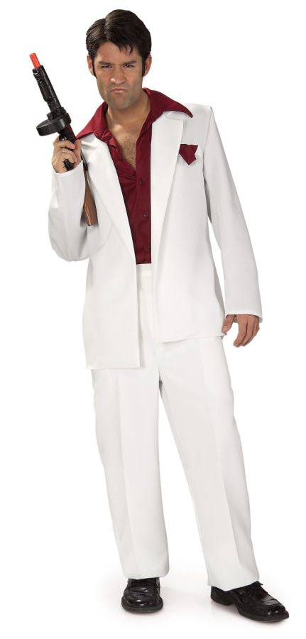 Gangster & Flapper Costume, Halloween Costumes, Miami Vice Costume, Tony Halloween Costume, Toppers Mob Boss, Wigs & Hair Costume