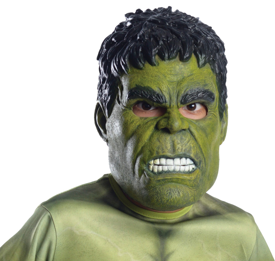 Hulk Endgame 3 Quarter Child Mask