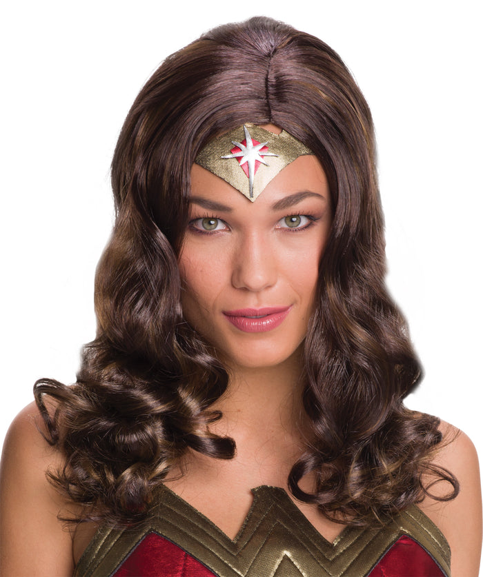 Halloween Costumes, Wigs & Hair Costume, Wonder Woman Costume, Wonder Woman Wig Adult