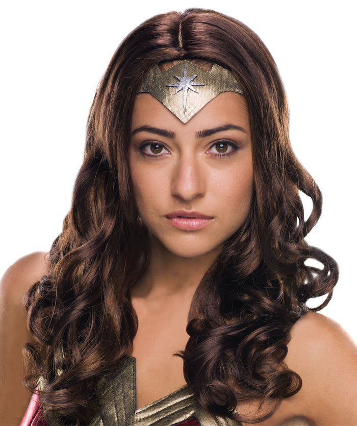 Halloween Costumes, Wigs & Hair Costume, Wonder Woman Costume, Wonder Woman Deluxe Adult Wig