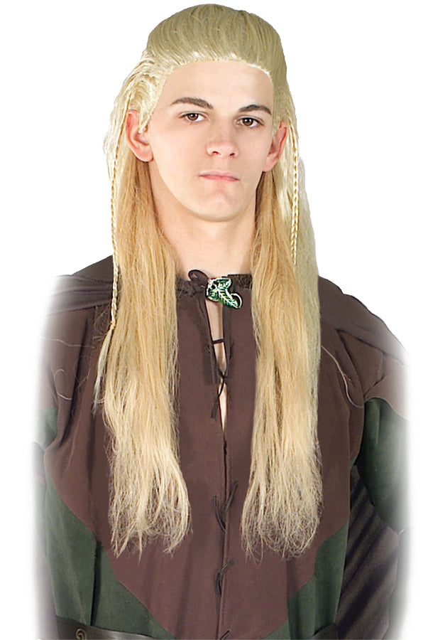 Halloween Costumes, Lord Of Rings Legola Wig, Lord of the Rings Costume, white wig, Wigs & Hair Costume