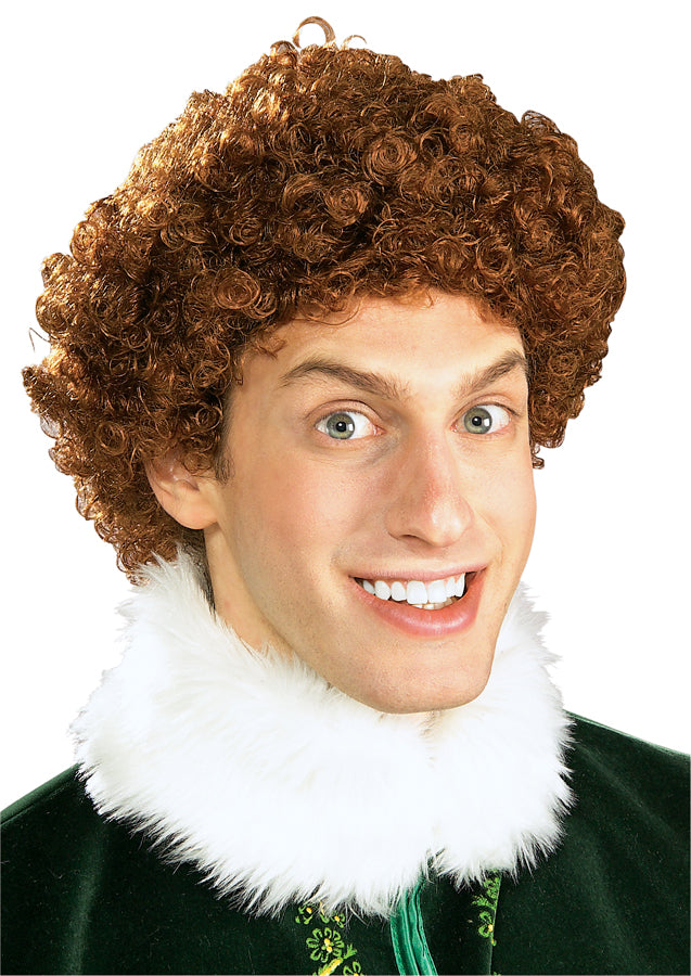 Buddy The Elf Wig, Halloween Costumes, Holiday Costumes, white wig, Wigs & Hair Costume