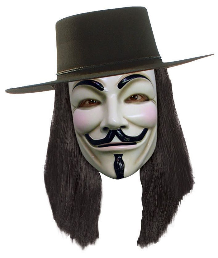 Halloween Costumes, V for Vendetta Costume, V For Vendetta Wig