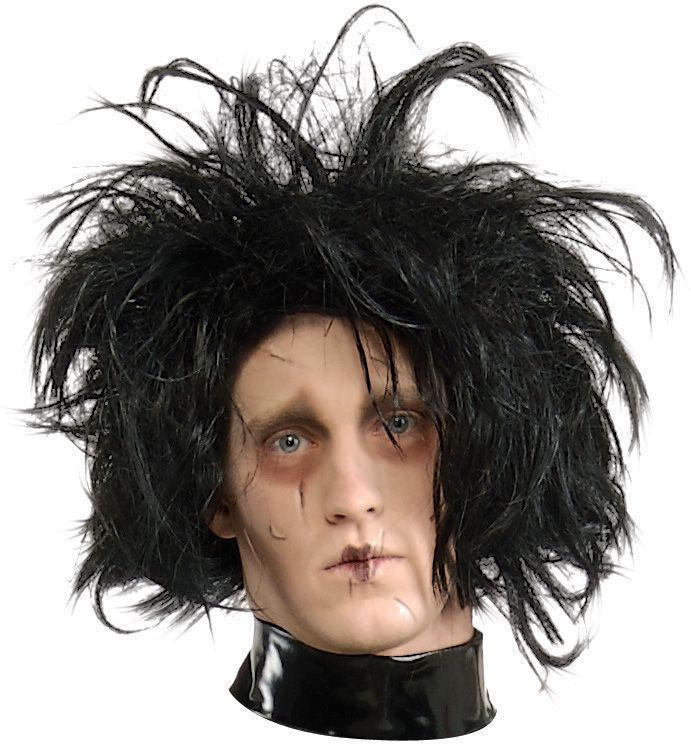 Adult Edward Scissorhands Wigs, Edward Scissorhands Costume, Halloween Costumes, white wig, Wigs & Hair Costume