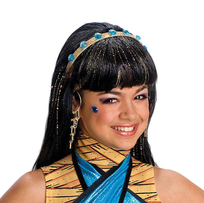 Cleo De Nile Wig, Egyptian Costume, Halloween Costumes, white wig, Wigs & Hair Costume