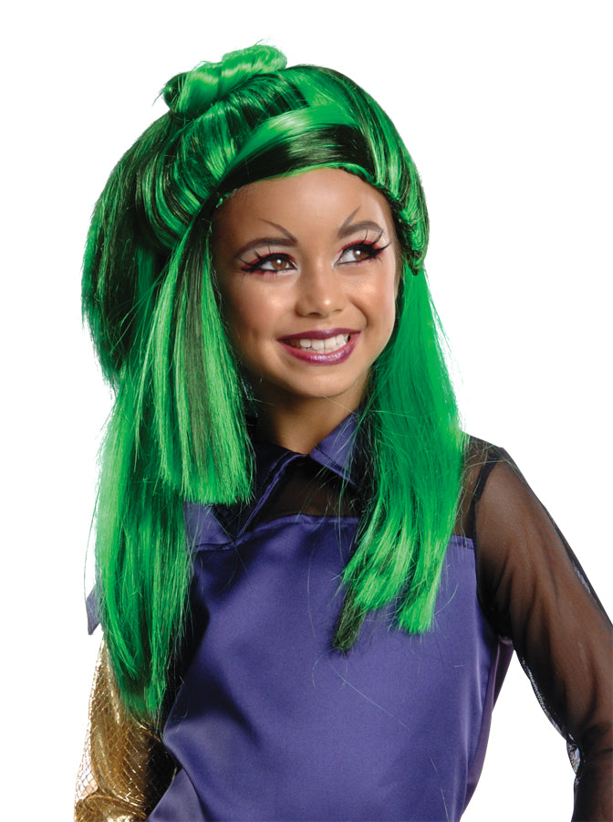 Halloween Costumes, Monster & Ever After High Costume, Monster High Jinafire Child Wig, white wig, Wigs & Hair Costume