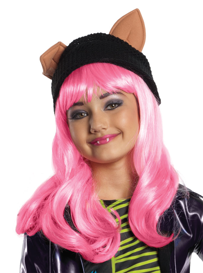 Halloween Costumes, Monster & Ever After High Costume, Monster High Howleen Child Wig, white wig, Wigs & Hair Costume