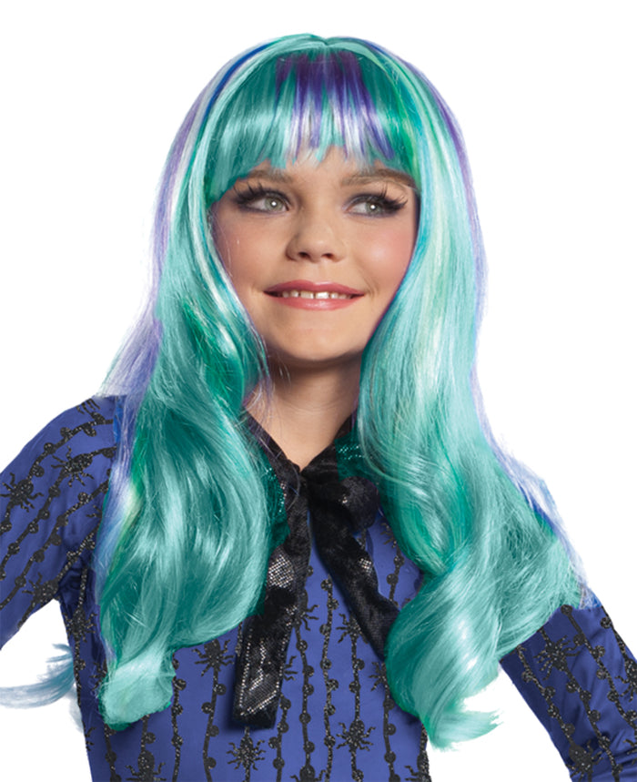 Halloween Costumes, Monster & Ever After High Costume, Monster High Twyla Child Wig, white wig, Wigs & Hair Costume