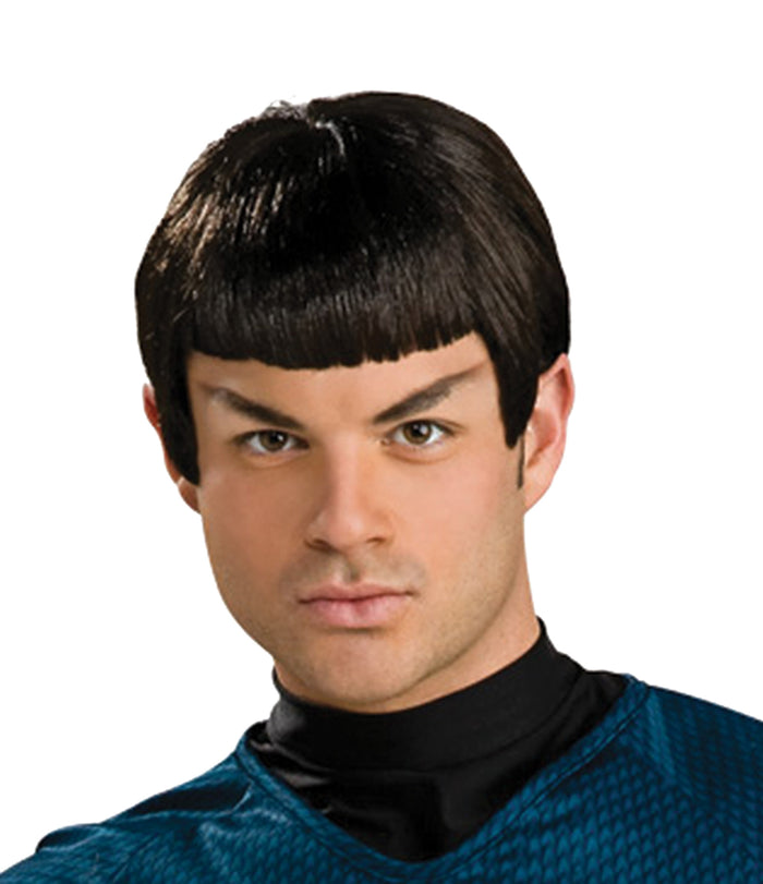 Costume Makeup, Costume Wigs & Hair, Halloween Costumes, Spock Wig With Ears, Star Trek Costume, white wig