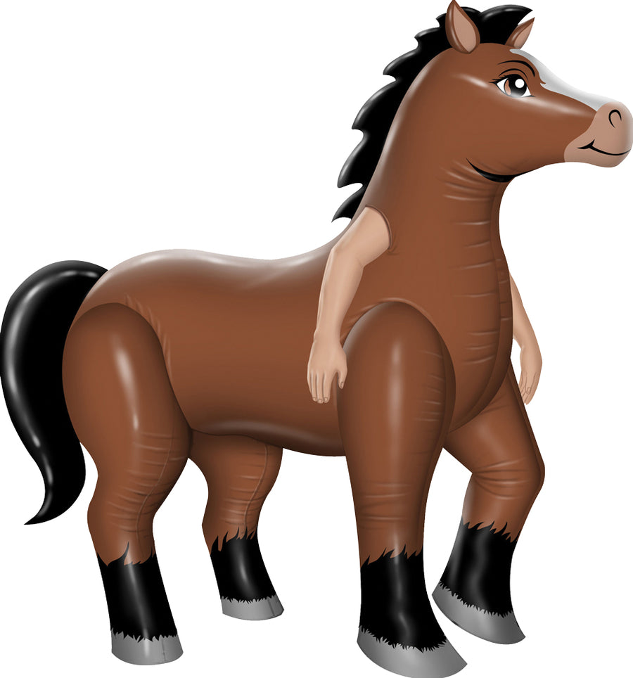 Mr Horsey Inflatable Mens Costume