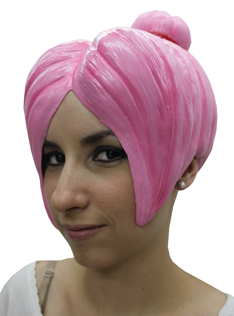 Anime Wig Style 4 Latex Pink, Halloween Costumes, white wig, Wigs & Hair Costume