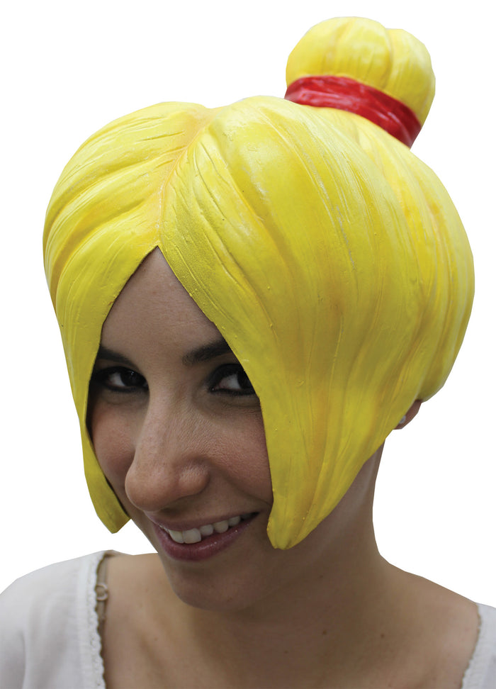 Anime Wig Style 4 Latex Yellow, Halloween Costumes, Japanimation Costume, white wig, Wigs & Hair Costume