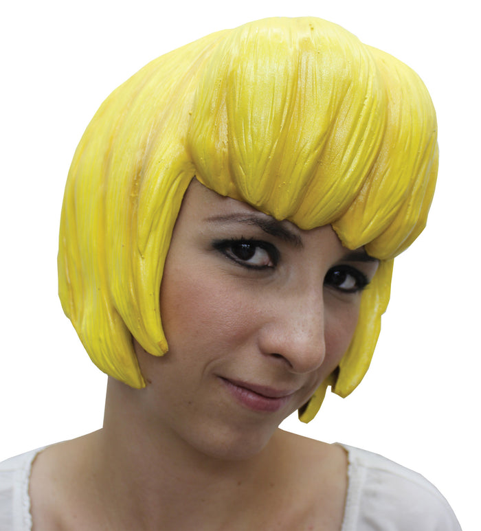 Anime Wig Style 6 Latex Yellow, Halloween Costumes, Japanimation Costume, white wig, Wigs & Hair Costume