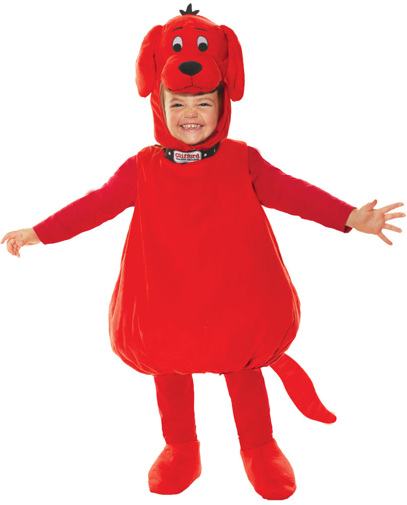 Clifford The Big Red Dog Deluxe Toddler Costume Lg