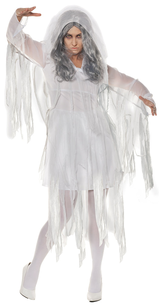 Ghostly Light Womens Costume Lg