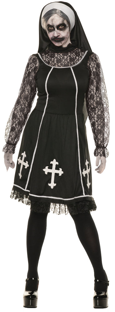 Sister Mary Evil Womens Costume Md