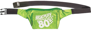 Green 80S Adult Fanny Pack