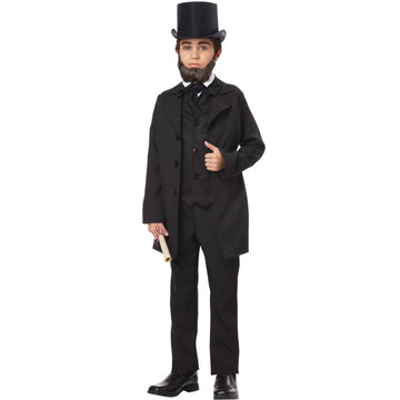 Abraham Lincoln Frederick Doug Boys Costume Md - Boys Costumes Halloween