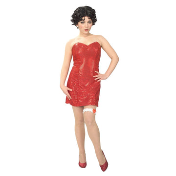 Adult Betty Boop Sm - adult halloween costumes Betty Boop Costume female