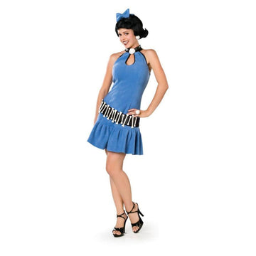 Adult Betty Rubble Sm - adult halloween costumes Caveman & Primitive Costume