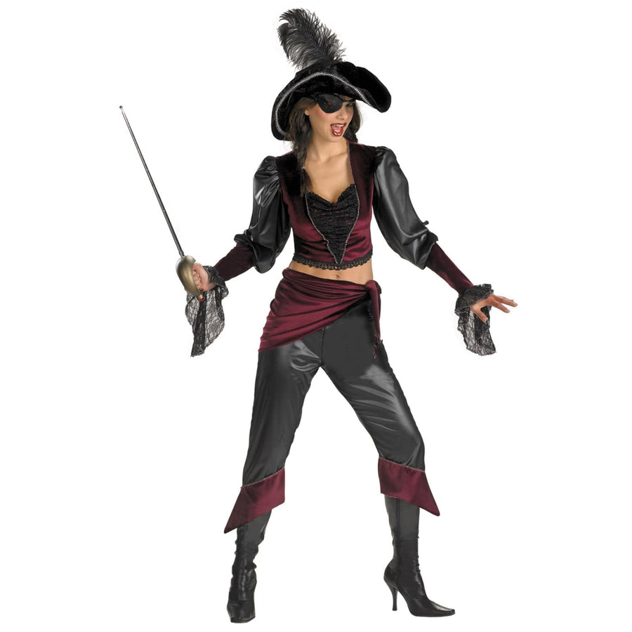 Adult Buccaneer Beauty - adult halloween costumes female Halloween costumes