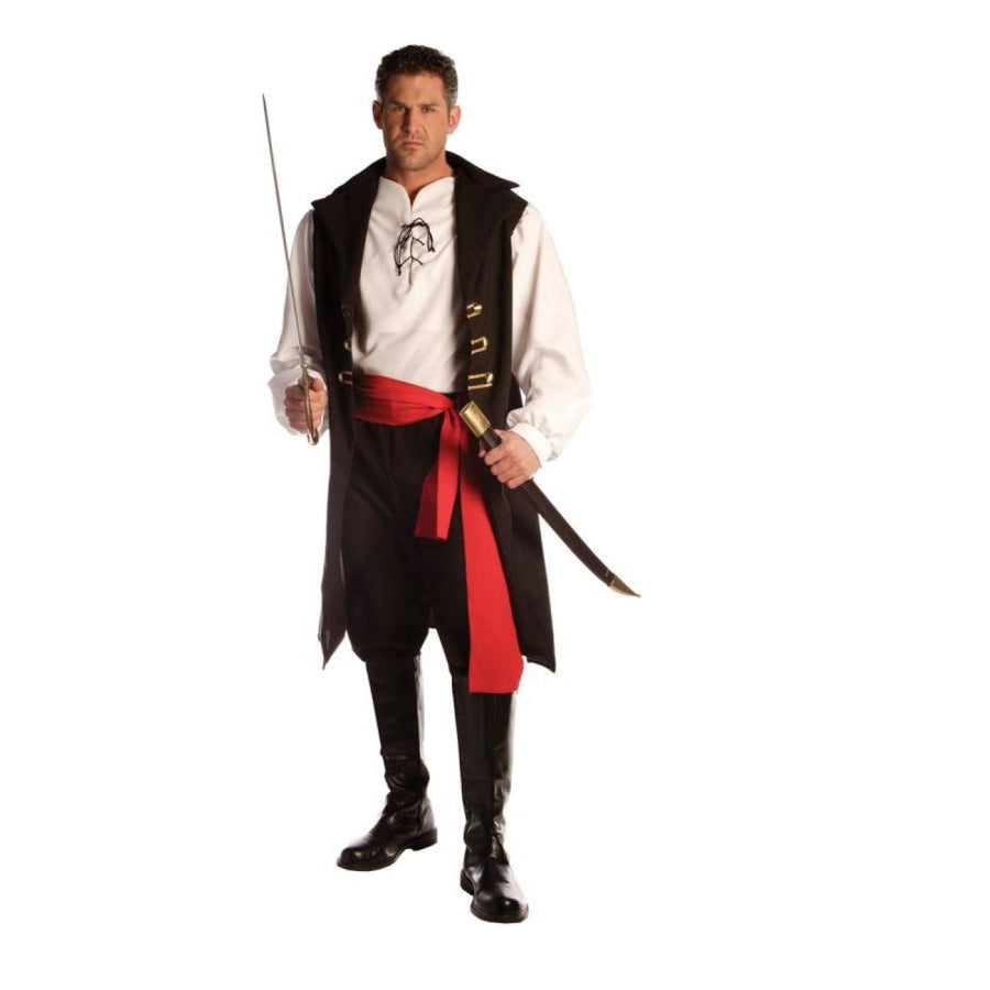 Adult Captain Cutthroat Mens Costume - Adult Halloween Costume Halloween