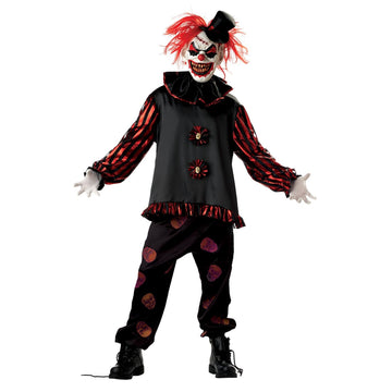 Adult Carver The Killer Clown - Adult Halloween Costume Clown & Mime Costume