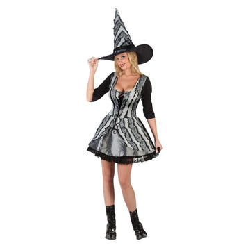 Adult Goth Rose Witch Sm-Md - adult halloween costumes female Halloween costumes