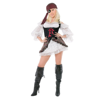 Adult Playboy Buccaneer Beauty Sm - adult halloween costumes female Halloween