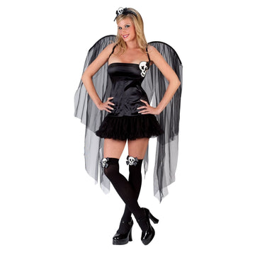 Adult Skull Fairy Sm-Md - adult halloween costumes Angel & Fairy Costume female