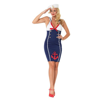 Ahoy There Hottie Xl - adult halloween costumes female Halloween costumes