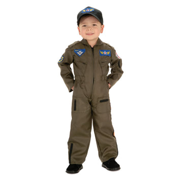 Air Force Fighter Pilot Boys Costume Sm - Boys Costumes boys Halloween costume