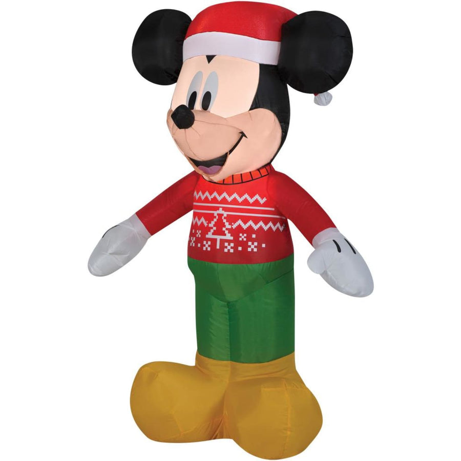 Airblown-Mickey In Ugly Sweater - New Costume