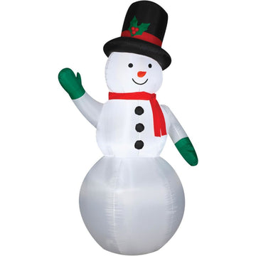 Airblown Snowman - Christmas Decorations Decorations & Props Halloween costumes
