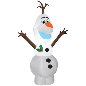 Airblown-Standing Olaf-Small - New Costume