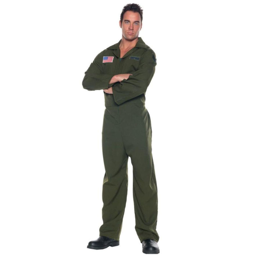 Airforce Jumpsuit - adult halloween costumes halloween costumes male Halloween