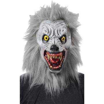 Albino Werewolf Mask Realistic - Animal & Insect Costume Costume Masks Ghoul