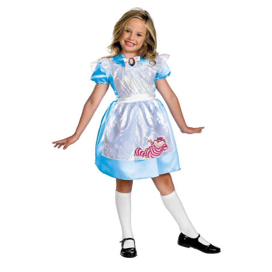 Alice Classic Child 7-8 - Alice in Wonderland Costume Fairytale Costume Girls