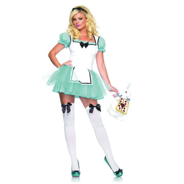 Alice Enchanted Md-Lg - adult halloween costumes Alice in Wonderland Costume