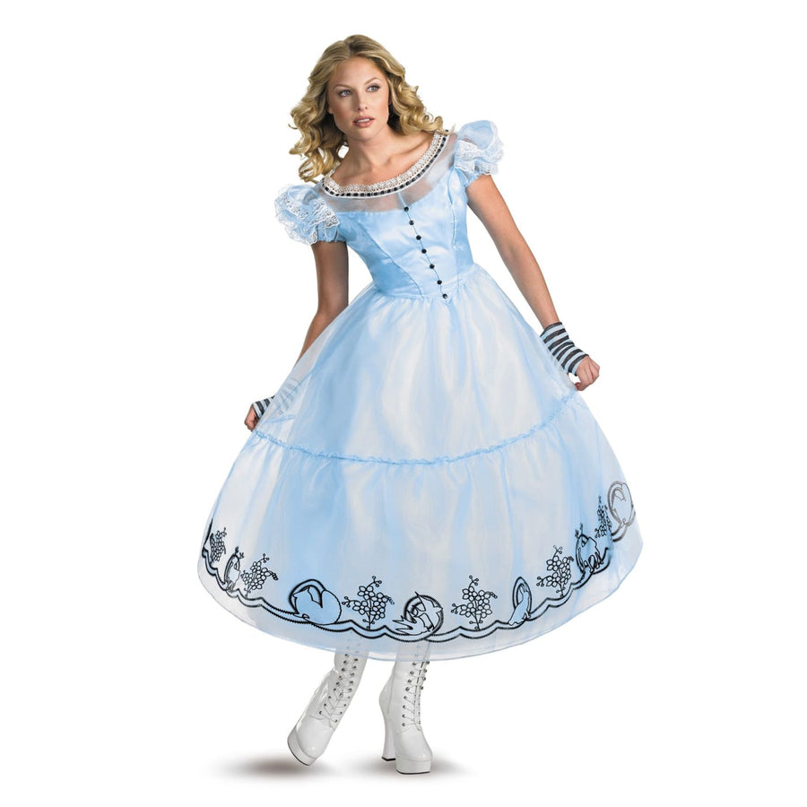 Alice Movie Costume Dlx 4-6 - adult halloween costumes Alice in Wonderland