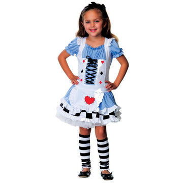 Alice Sm Child - Alice Halloween Costume Alice in Wonderland Costume Fairytale