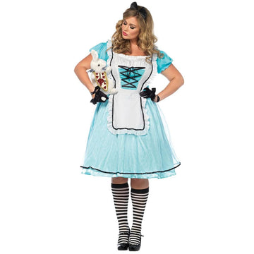 Alice Tea Time Adult Costume Xxlarge - adult halloween costumes Disney Costume