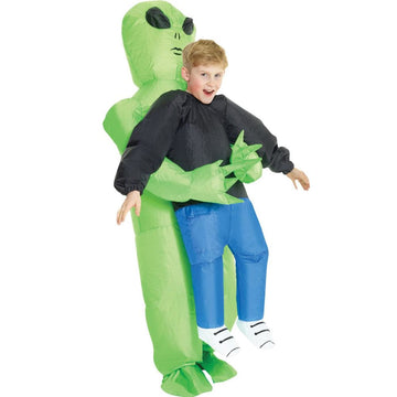 Alien Pick Me Up Boys Costume 10-12 - Boys Costumes New Costume