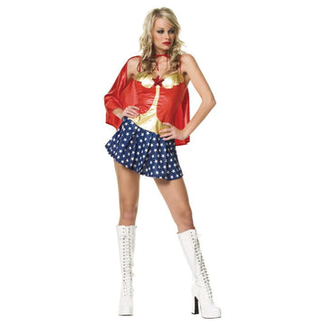 All American Babe Xl - adult halloween costumes DC Comics Costume female