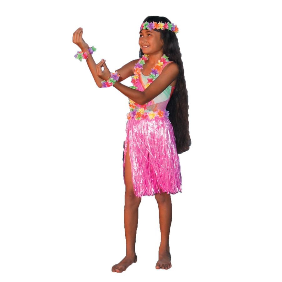 Aloha Set Pink Child-Teen - Girls Costumes girls Halloween costume Halloween