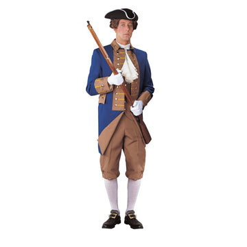 American Rev Officer Lg - adult halloween costumes American Halloween Costume