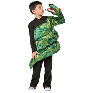 Anaconda Boys Costume Medium 7-10 - Animal & Insect Costume Boys Costumes Funny
