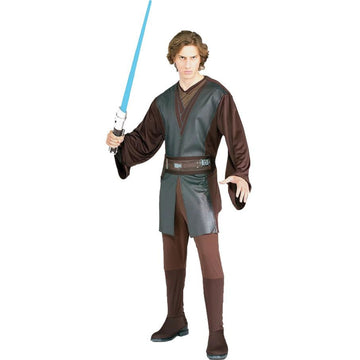 Anakin Adult Costume - adult halloween costumes halloween costumes male